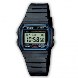 RELOJ DIGITAL CASIO F-91W-1YER