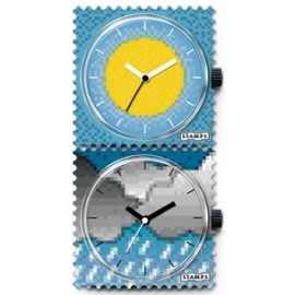 RELOJ STAMPS GOOD TIMES