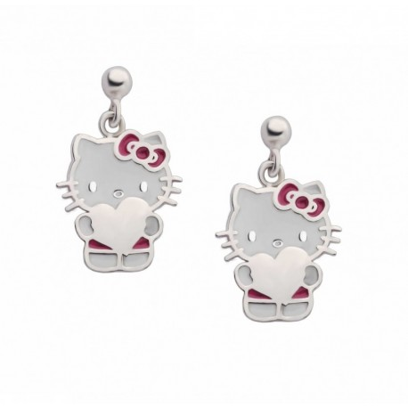 PENDIENTES DE PLATA DE HELLO KITTY