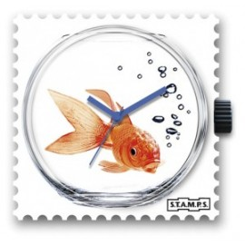 RELOJ STAMPS FISH BOWL