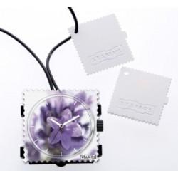 Reloj Stamps colgante perfumable