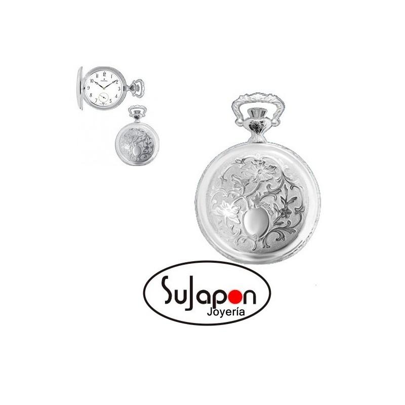 Reloj de bolsillo de plata Festina
