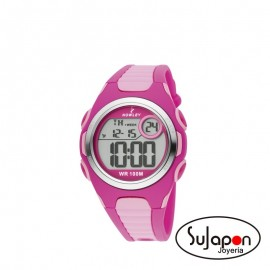 Reloj Nowley digital rosa
