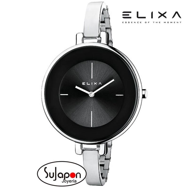 Reloj señora Elixa de acero