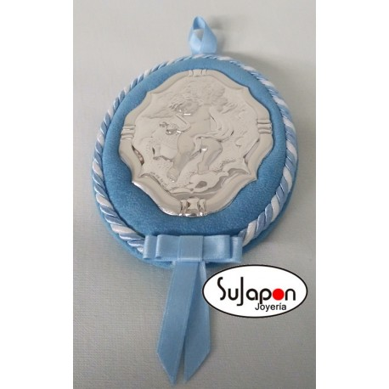 Medallón de cuna o carrito de bebé