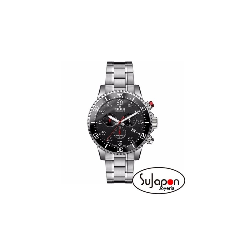 8163f1d6130a RELOJ EDOX CHRONORALLY-S DE ACERO - SuJapon