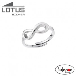Sortija Lotus Silver con cruz
