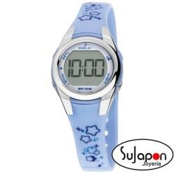 Reloj Nowley digital niña azul
