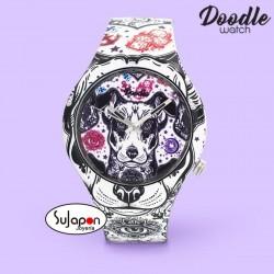 Reloj Doodle Terrier dog