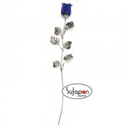 Rosa Azul de tallo largo 30cm