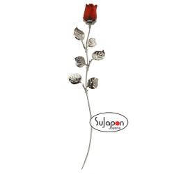 Rosa Roja de tallo largo 30cm