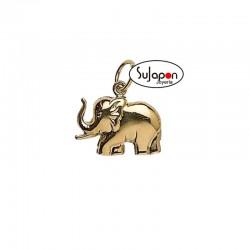 Colgante de oro elefante