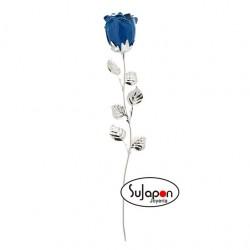 Rosa Azul de 33 cm.