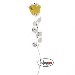 Rosa Amarilla de 33 cm.