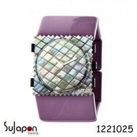 PULSERA STAMPS LILA